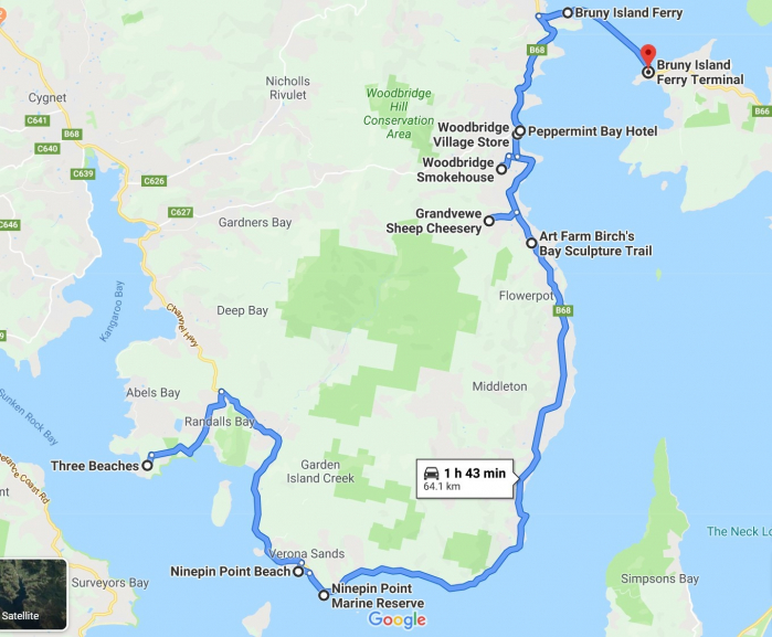 gallery/three beaches to bruny island day trip leg 1