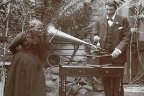 Huon Valley's Fanny Cochrane-Smith makes the only recording of Tasmanian Aboriginal song & speech in existence in the world